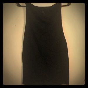 Black bodycon tube